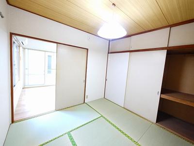 【寝室】パナハイツ大宮