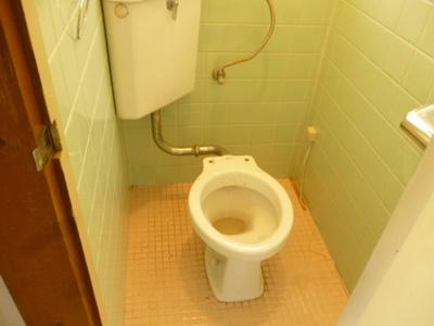 【トイレ】椿ハイツ