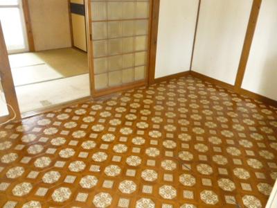 【寝室】椿ハイツ