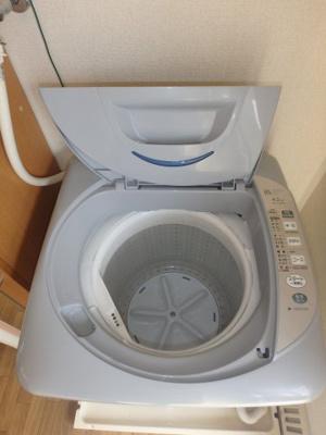 西中新田 えとあタウンA 1K 洗濯機