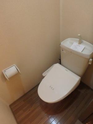 西中新田 えとあタウンA 1K トイレ