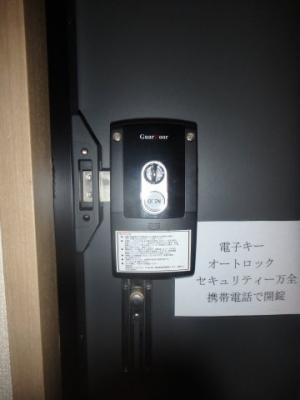 西中新田 えとあタウンA 1K セキュリティ