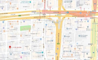 【地図】リーガル四ツ橋立売堀