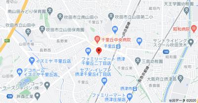 【地図】近畿ビル