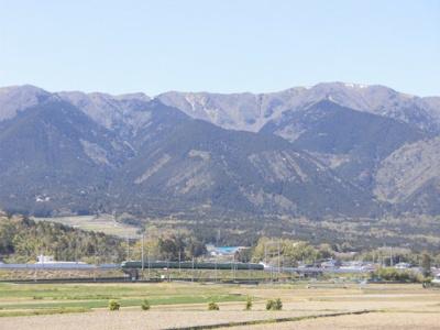 湖西線と比良山系