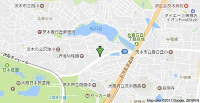 【地図】グランディールイバラキ