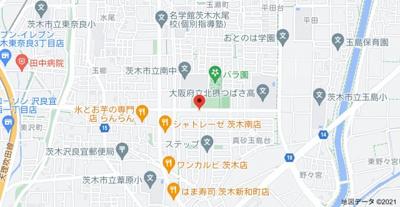【地図】ヌーベルハイム