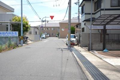 【前面道路含む現地写真】岸和田市春木本町 中古戸建