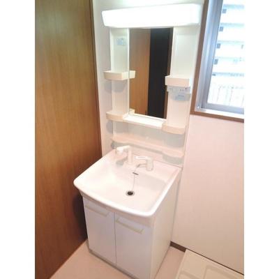サングリーン新宿の独立洗面台