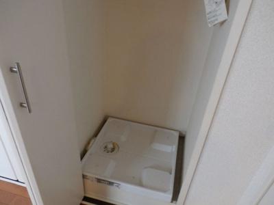 TOFスクエアの洗濯機置場