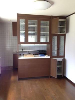 秋山邸のキッチン