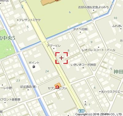 【地図】ドリーム神田