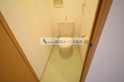 【トイレ】カーサリーヴァ
