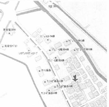 【地図】大熊借家