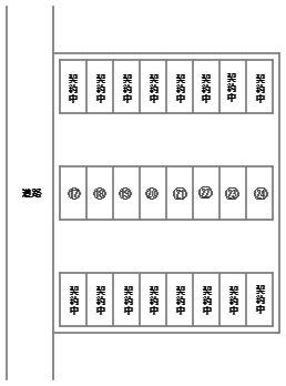 【区画図】元町駐車場