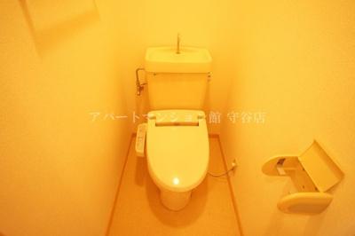 【トイレ】ヴィラ松前台A