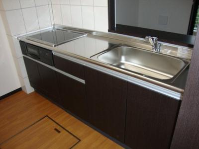 ルミナスⅡのキッチン