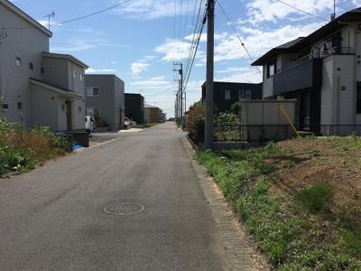 【前面道路含む現地写真】富士見ヶ丘3丁目23番
