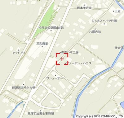 【地図】ファーデン・ハウス