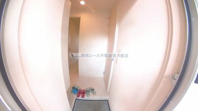 【玄関】グレイスコートA棟