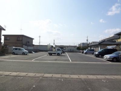 【外観】皆生新田駐車場
