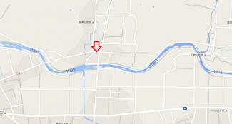 【地図】柚津売地170万円