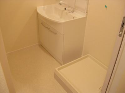 【洗面所】ホワイトキューブ