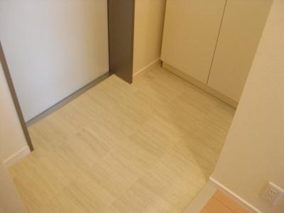 【玄関】ホワイトキューブ