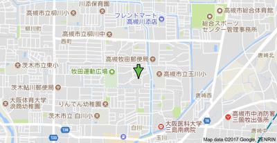 【地図】富田第二住宅64号棟 株式会社Roots