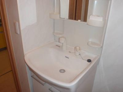 グランシップ蘇我の独立洗面台