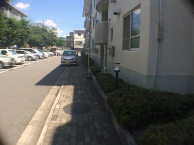 【駐車場】長吉コーポ1号棟
