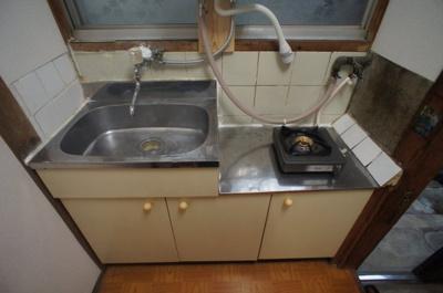 【キッチン】庭井アパート