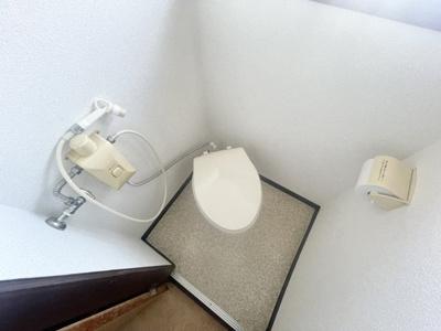 【トイレ】喜志町3丁目テラスハウス
