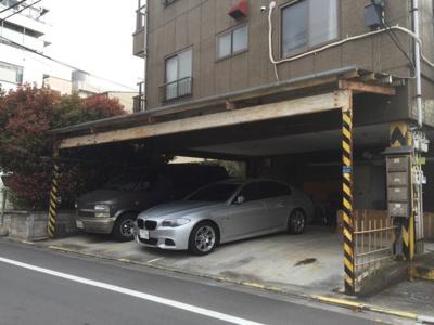 【外観】コーポ福久寿駐車場