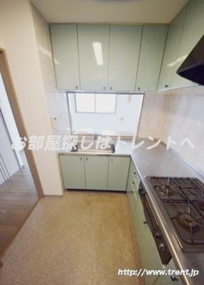 【キッチン】HF白山レジデンス