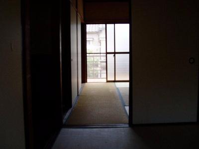 【寝室】梅津罧原町貸家