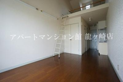【居間・リビング】ウッディパレスフジⅡ