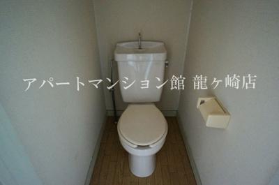 【トイレ】ウッディパレスフジⅡ