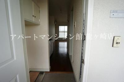 【玄関】ウッディパレスフジⅡ