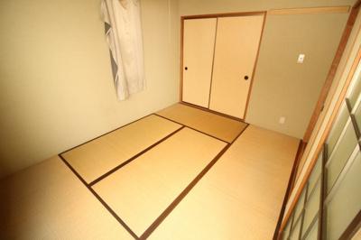 【寝室】日吉町ハイツ