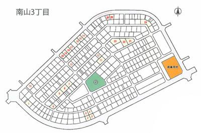【区画図】加東市南山3丁目1号地~26号地