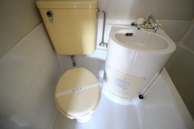 【トイレ】山下ハイツ