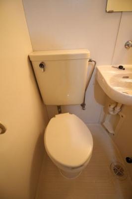 【トイレ】パームスハイツ