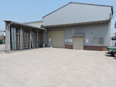 【外観】美原区丹上 倉庫・事務所