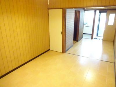 【居間・リビング】恵我之荘6丁目貸家