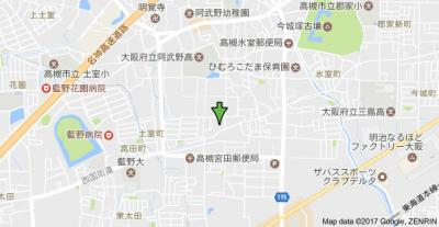 【地図】コーポ東の宮 株式会社Roots