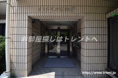【エントランス】イトウビル神楽坂