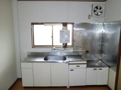 【キッチン】木村コーポ 北棟