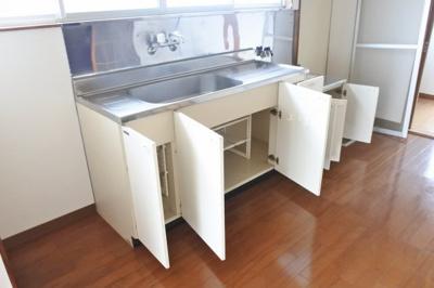 【キッチン】土気戸建貸家 3DK
