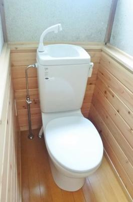 【トイレ】土気戸建貸家 3DK